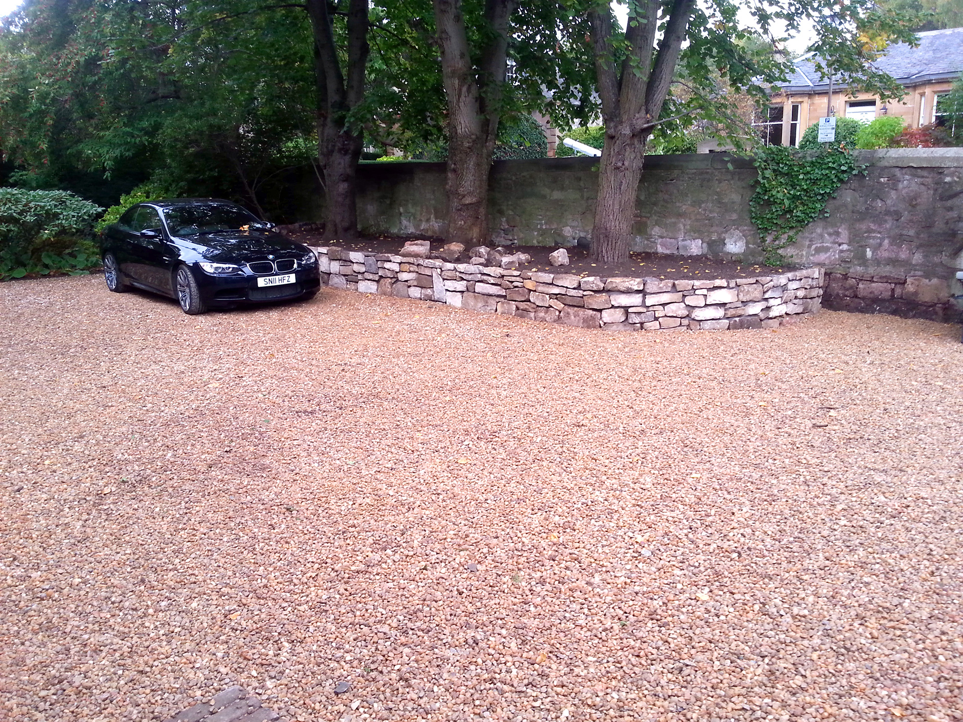 Driveway specialists in Edinburgh and Fife