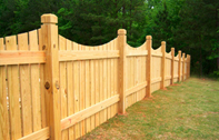 Timber Fencing Installation